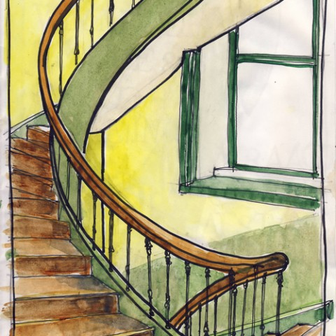 9.Escalier Gare B-B2