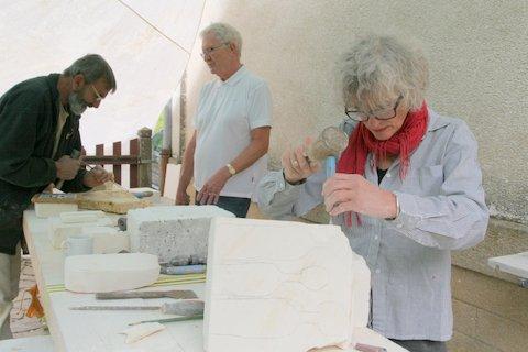 workshop Frankrijk beeldhouwen 09