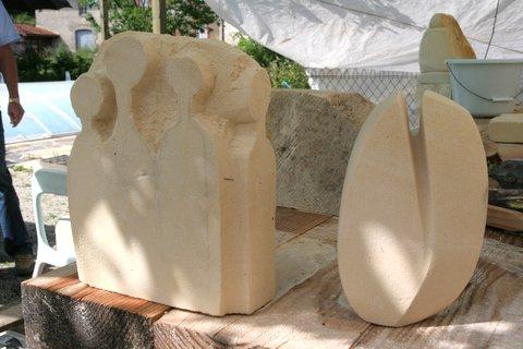 workshop Frankrijk  beeldhouwen 12